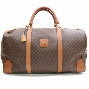 f5e0a3df4fb5 Céline Boston Keepall Duffle Brown Travel Bag