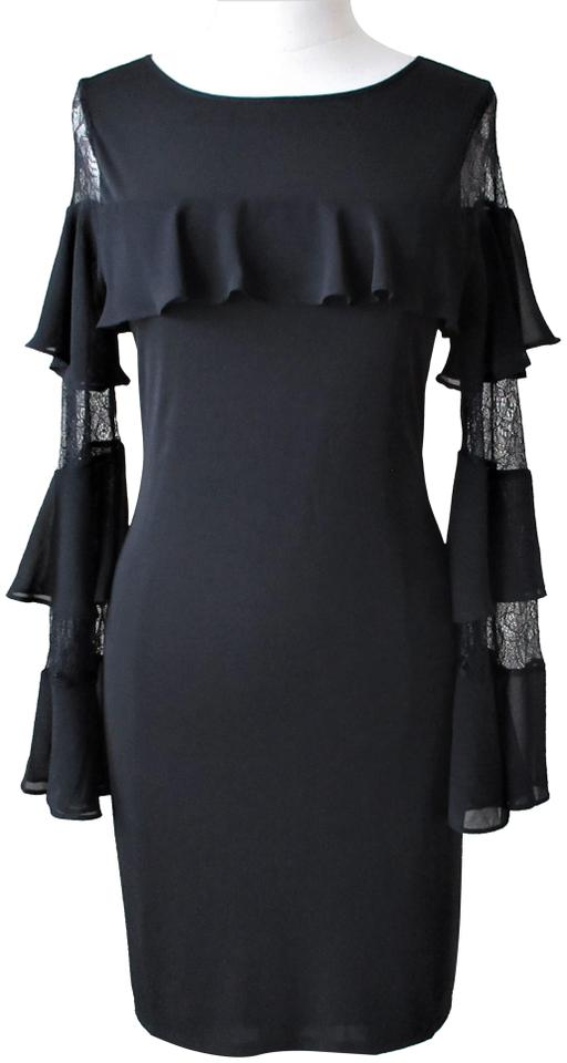 White House Black Market New With Tags Ruffle Lace Bell Sleeve