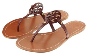 Tory Burch Oxblood Sandals