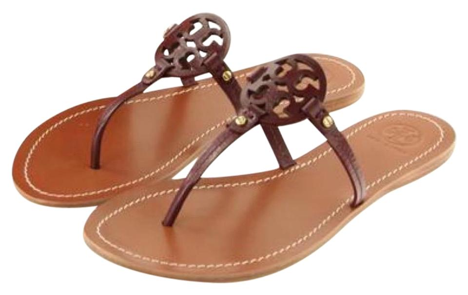 96e735343772 Tory Burch Red Flash-sale Mini Miller Sandals Size US 10 Regular (M ...