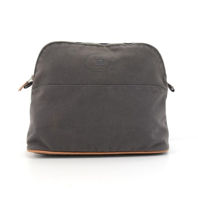 Item - Gray Pouch Bolide Trousse 30 Cotton Cosmetic Bag