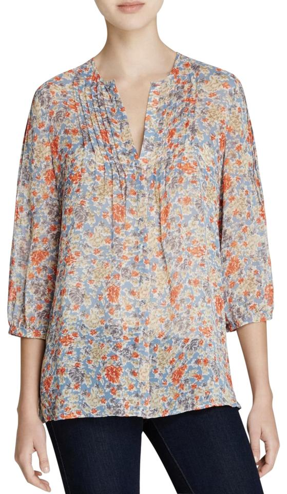 c23c1660a281 Joie Floral Lacee Silk Blouse Size 0 (XS) - Tradesy
