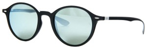 Ray-Ban Ray Ban Round Liteforce Non-Polarized Silver Flash RB 4237 601/30