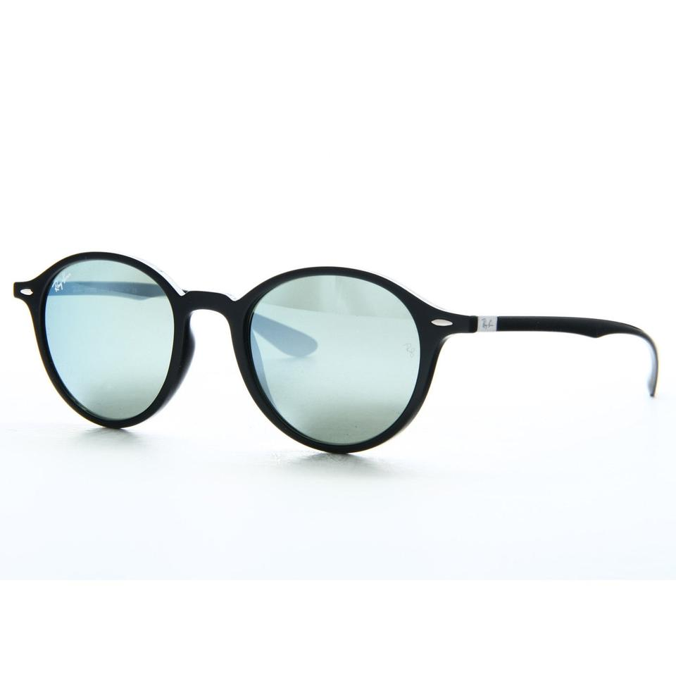 2c33244f95 ... Ray Ban Round Liteforce Non-Polarized Silver Flash RB 4237 601 . 123