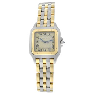 Cartier Cartier Midsize Panthere 187949 Three Row Steel Gold 26MM