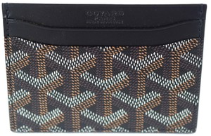 Goyard Goyard Black St Sulpice Credit Card Holder