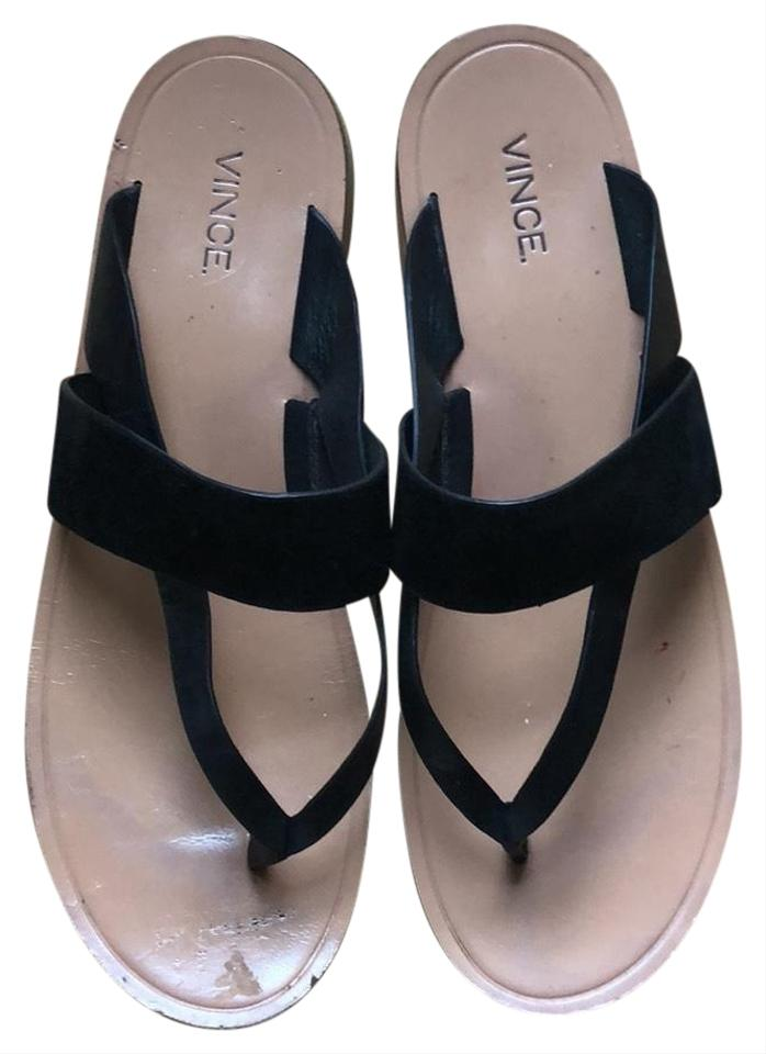 e3aab8974 Vince Flat Sandals Size EU 39.5 (Approx. US 9.5) Regular (M, B ...