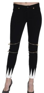 Fausto Puglisi Zippered Skinny Jeans