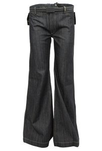 Balenciaga Denim Trouser/Wide Leg Jeans-Medium Wash