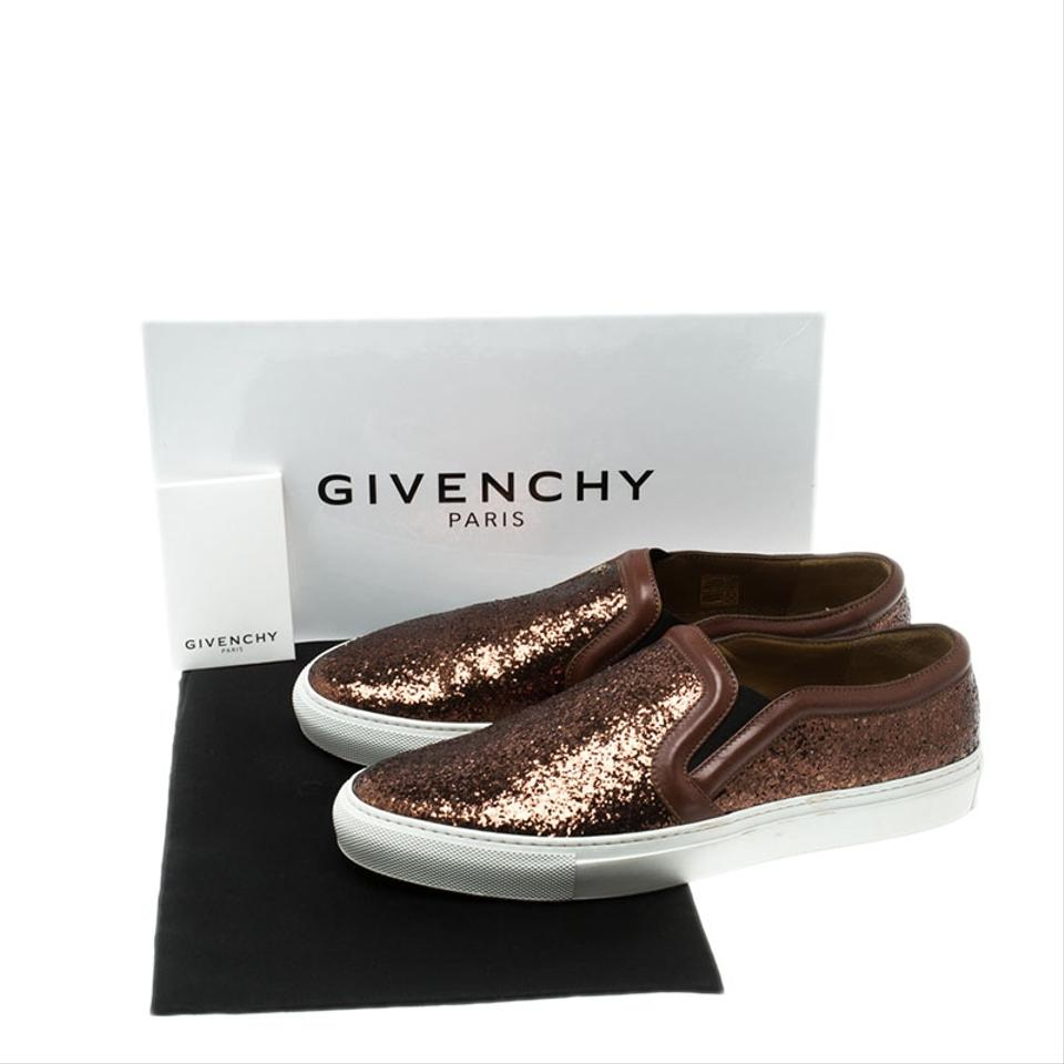 Metallic On Givenchy Glitter Slip Sneakers Bronxze Sneakers 6wddvq