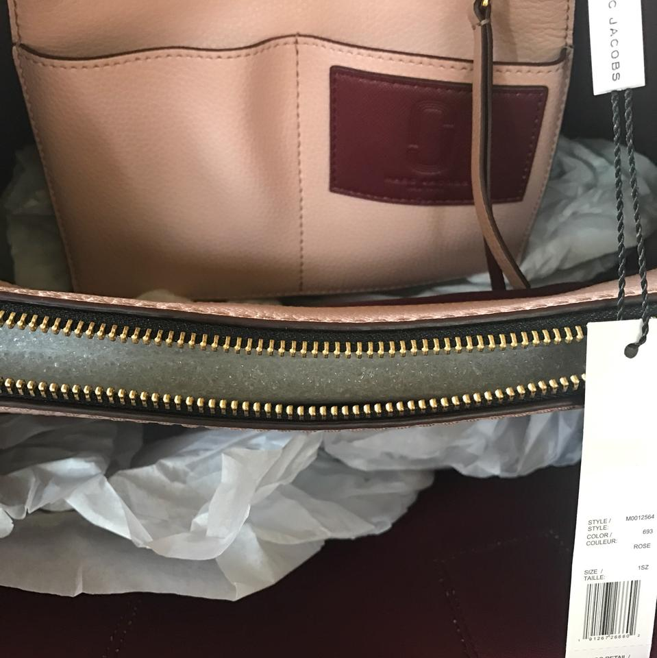 f794b340d59b Marc Jacobs The Editor Large Pebbled Rose Leather Tote - Tradesy