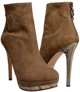 House of Harlow 1960 Platform New With Tags Snakeskin Heels Nexa Antelope Boots