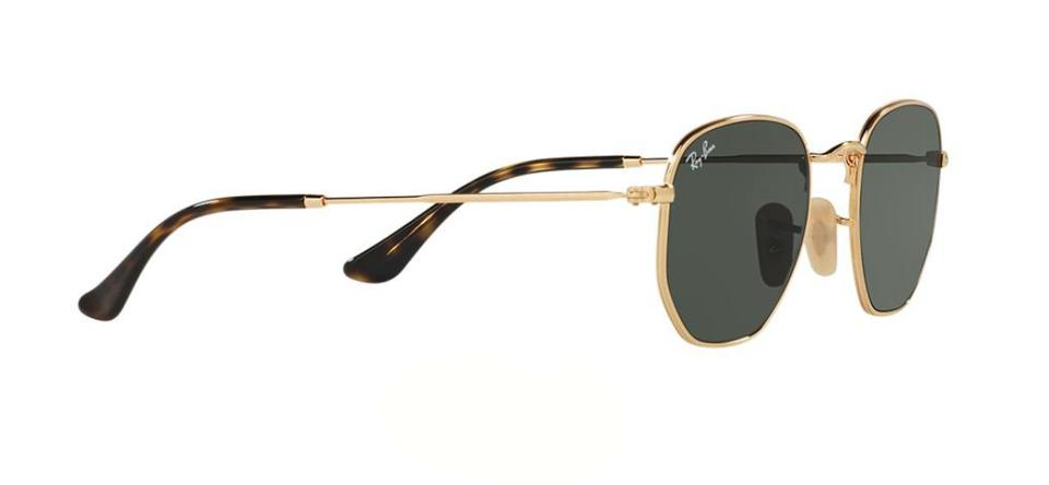 37c55e278a Ray-Ban Gold New Hexagon Style Rb 3548 001