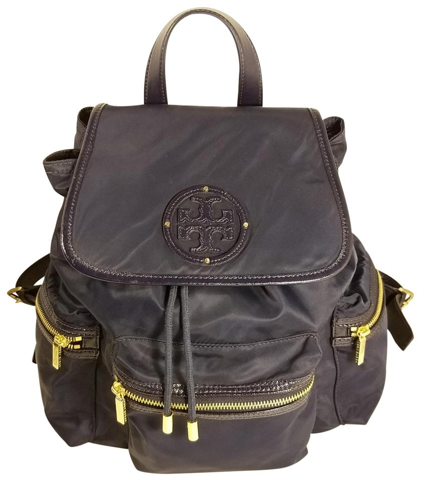0eee418b5db9 Tory Burch Nylon Blue Backpack - Tradesy