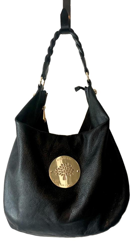 84769bcfa918 Mulberry Leather Braided Gold Gold Hardware Rare Hobo Bag ...