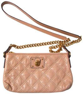 Marc by Marc Jacobs Leather Quilted Chain Small Evening Cross Body Bag