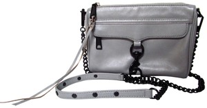 Rebecca Minkoff Leather Chain Mini Classic Evening Cross Body Bag