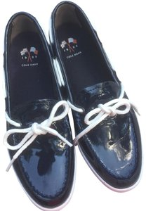 Cole Haan Navy/White Flats