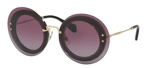 Miu Miu Free 3 Day Shipping Vintage New Condition Round SMU 10R U6B5F1