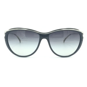 Chanel Cat Eye Black Silver Gray Gradient Sunglasses 5179 501/3c