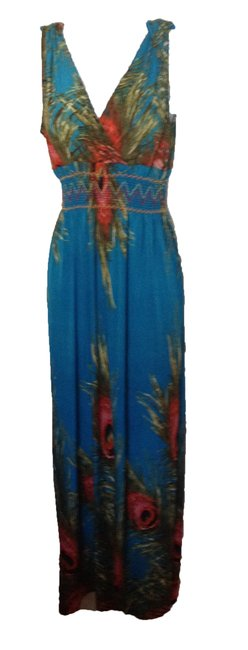 Preload https://img-static.tradesy.com/item/23899595/bluemulti-colorful-long-casual-maxi-dress-size-4-s-0-0-650-650.jpg