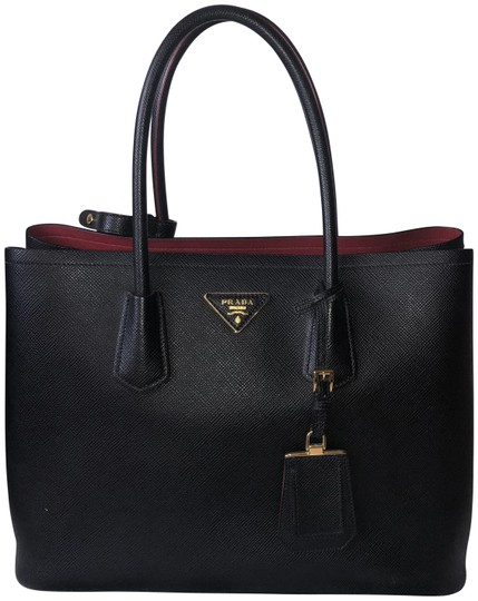 Preload https://img-static.tradesy.com/item/23899680/prada-double-sold-out-medium-saffiano-cuir-in-blackred-black-and-red-leather-tote-0-2-540-540.jpg