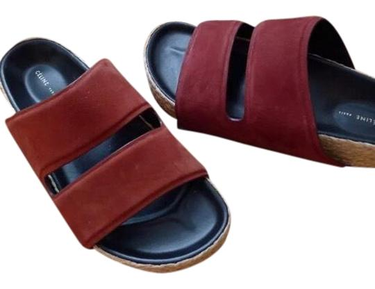 Preload https://img-static.tradesy.com/item/23899696/celine-red-bordo-sandals-size-us-9-regular-m-b-0-1-540-540.jpg