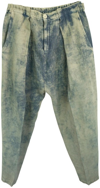 Preload https://img-static.tradesy.com/item/23899732/multicolor-over-dyed-linen-boro-look-oversized-linen-trousers-baggy-pants-size-10-m-31-0-1-650-650.jpg