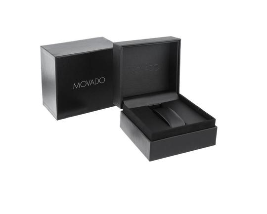 Movado Movado Series 800 Chronograph 2600110 Black Dial Stainless Steel Watch
