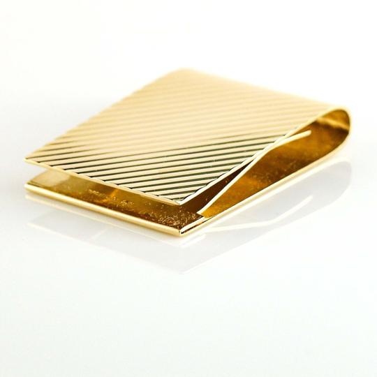 Tiffany & Co. Tiffany & Co. 14k Yellow Gold Money Clip Men's Jewelry