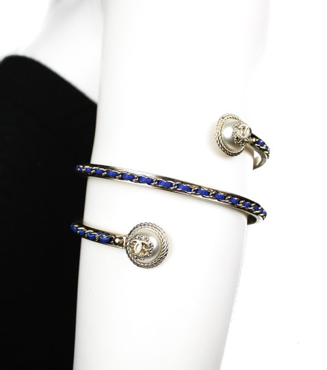 Chanel Chanel 2018 Woven Leather Arm Cuff