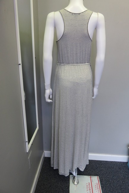 off white and grey Maxi Dress by J.Crew
