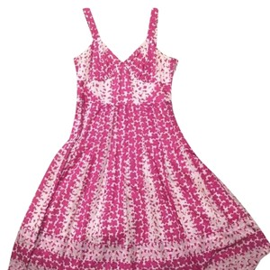pink and white Maxi Dress by Marc Jacobs