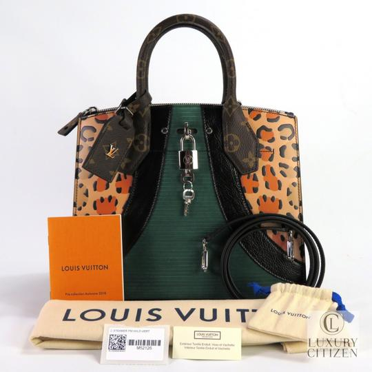 Louis Vuitton City Steamer Pm Leather Tote in Multicolor