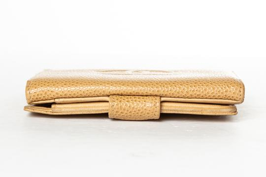Chanel CHANEL Tan Caviar Leather Timeless Wallet