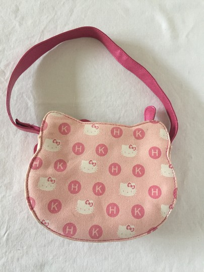 Hello Kitty Satchel in Pink and White