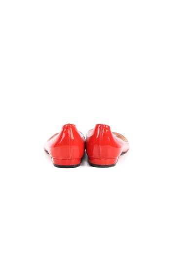 Christian Louboutin Patent Leather Apple Red Flats