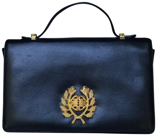 Preload https://img-static.tradesy.com/item/23900015/givenchy-vintage-black-and-gold-leather-satchel-0-1-540-540.jpg