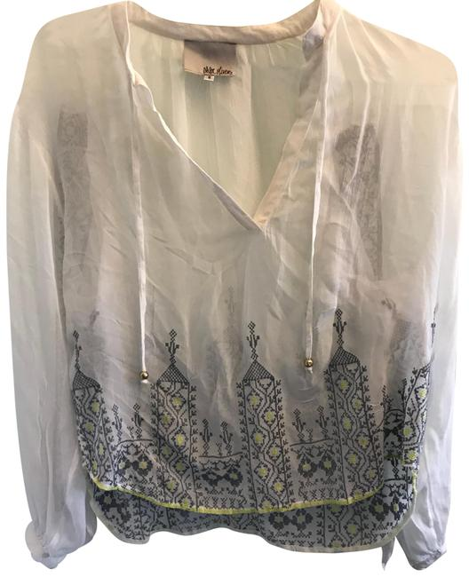 Preload https://img-static.tradesy.com/item/23900045/anthropologie-embroidered-blouse-size-6-s-0-1-650-650.jpg