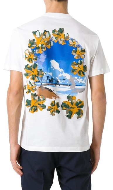 Preload https://img-static.tradesy.com/item/23900058/prada-white-men-s-cotton-jersey-postcard-surf-print-crew-neck-t-shirt-tee-shirt-size-16-xl-plus-0x-0-1-650-650.jpg