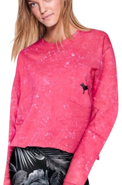 Preload https://img-static.tradesy.com/item/23900140/pink-cropped-long-sleeve-tee-shirt-size-8-m-0-1-650-650.jpg