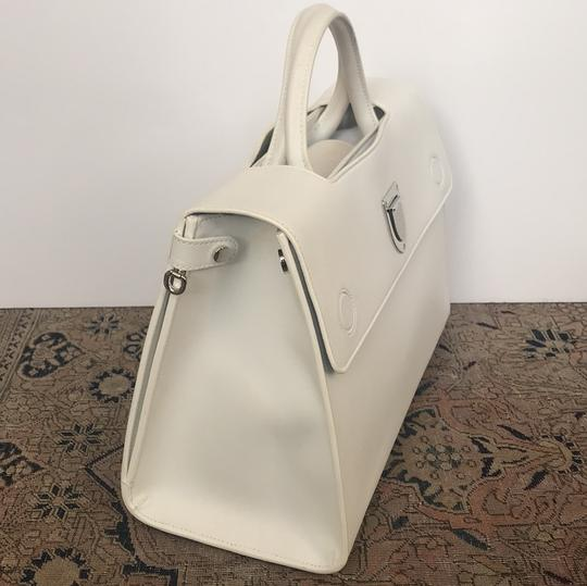 Dior Satchel in white