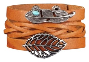 Other Men's Vintage Leather Wrap Bracelet