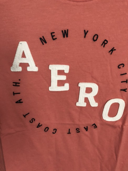 Aéropostale Xxl Juniors Xxl Soft Coral T Shirt PETITE/MISSES SIZE--NOT LADIES--Soft Coral---NEW WITH TAGS!! Big Aero sale 2/37.49 -- 3/45.00---EVEN MORE OFF!