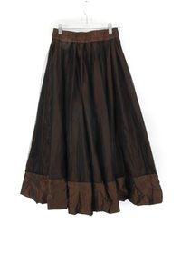 Lilith Mesh Skirt Brown