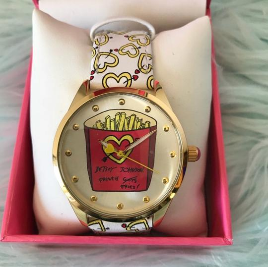 Betsey Johnson French fries watch BJ00495-26