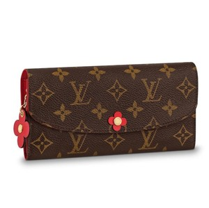 Louis Vuitton blooming flowers emilie wallet