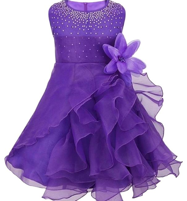 Preload https://img-static.tradesy.com/item/23900426/purple-girls-3t-pageant-flower-easter-short-formal-dress-size-os-one-size-0-1-650-650.jpg