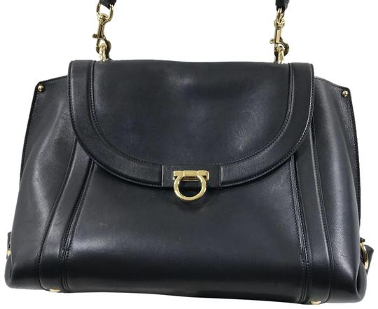 Preload https://img-static.tradesy.com/item/23900520/salvatore-ferragamo-suzanna-tote-black-leather-satchel-0-1-540-540.jpg