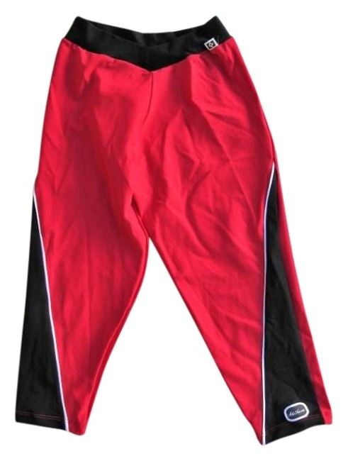 Preload https://img-static.tradesy.com/item/23900632/red-with-black-accents-luxury-brazilian-lowrise-yoga-leggings-activewear-capriscrops-size-4-s-27-0-1-650-650.jpg
